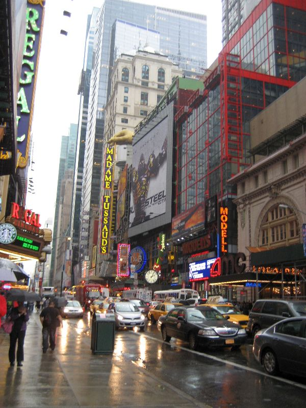 New York im Regen